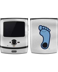 North Carolina Tar Heel Footprint Logo Motorola RAZR Skin