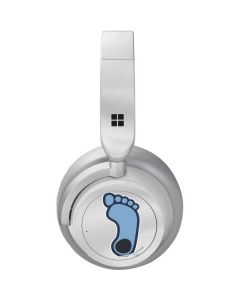 North Carolina Tar Heel Footprint Logo Surface Headphones Skin