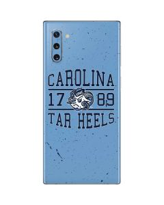 North Carolina Tar Heels 1789 Galaxy Note 10 Skin