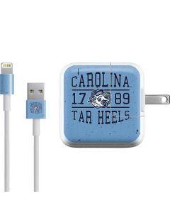 North Carolina Tar Heels 1789 iPad Charger (10W USB) Skin