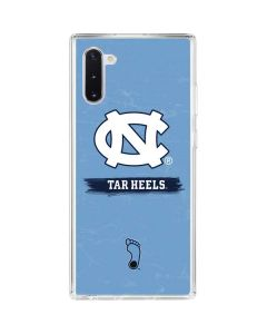 North Carolina Tar Heels Galaxy Note 10 Clear Case