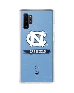 North Carolina Tar Heels Galaxy Note 10 Plus Clear Case