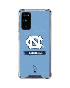 North Carolina Tar Heels Galaxy S20 FE Clear Case