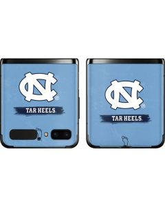 North Carolina Tar Heels Galaxy Z Flip Skin