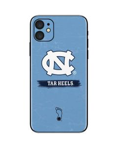 North Carolina Tar Heels iPhone 11 Skin