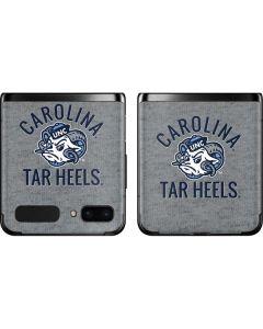 North Carolina Tar Heels Logo Galaxy Z Flip Skin