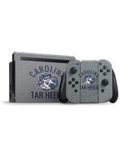 North Carolina Tar Heels Logo Nintendo Switch Bundle Skin