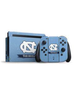 North Carolina Tar Heels Nintendo Switch Bundle Skin