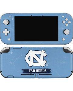 North Carolina Tar Heels Nintendo Switch Lite Skin