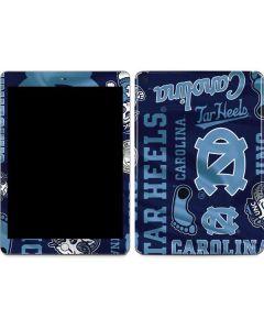 North Carolina Tar Heels Print Apple iPad Skin