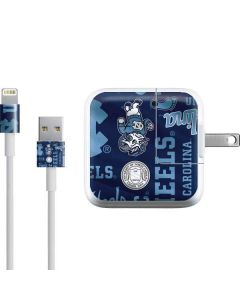 North Carolina Tar Heels Print iPad Charger (10W USB) Skin