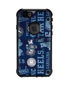 North Carolina Tar Heels Print iPhone 6/6s Waterproof Case