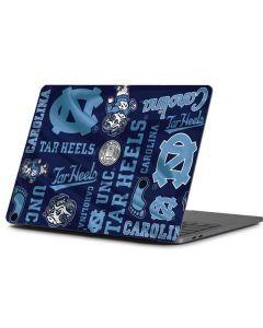 North Carolina Tar Heels Print Apple MacBook Pro 13-inch Skin