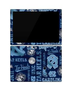 North Carolina Tar Heels Print Surface Pro 7 Skin