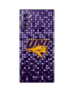 Northern Iowa Checkered Galaxy Note 10 Skin