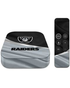 Las Vegas Raiders Apple TV Skin