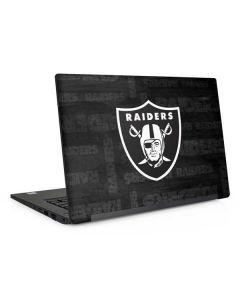 Las Vegas Raiders Black & White Dell Latitude Skin