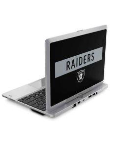 Las Vegas Raiders Black Performance Series Elitebook Revolve 810 Skin