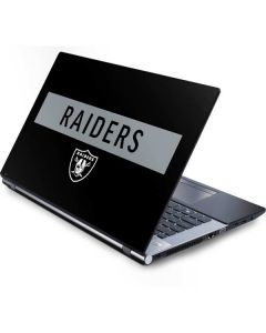 Las Vegas Raiders Black Performance Series Generic Laptop Skin