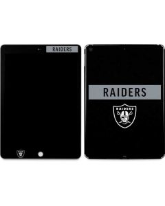Las Vegas Raiders Black Performance Series Apple iPad Skin