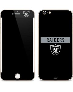 Las Vegas Raiders Black Performance Series iPhone 6/6s Plus Skin