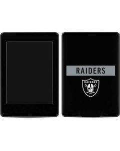 Las Vegas Raiders Black Performance Series Amazon Kindle Skin