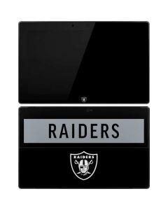 Las Vegas Raiders Black Performance Series Surface RT Skin