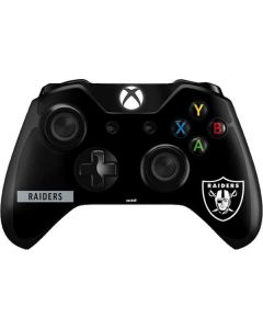 Las Vegas Raiders Black Performance Series Xbox One Controller Skin