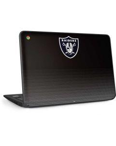 Las Vegas Raiders Breakaway HP Chromebook Skin