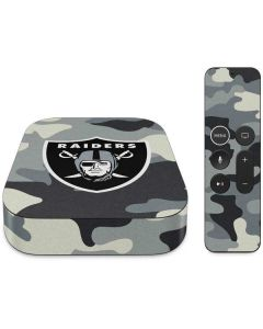 Las Vegas Raiders Camo Apple TV Skin
