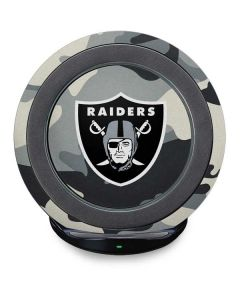 Las Vegas Raiders Camo Fast Charge Wireless Charging Stand Skin