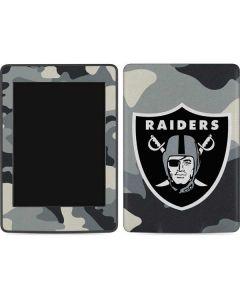 Las Vegas Raiders Camo Amazon Kindle Skin