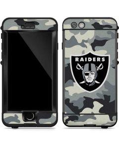 Las Vegas Raiders Camo LifeProof Nuud iPhone Skin