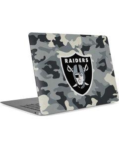 Las Vegas Raiders Camo Apple MacBook Air Skin