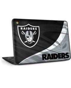 Las Vegas Raiders HP Chromebook Skin