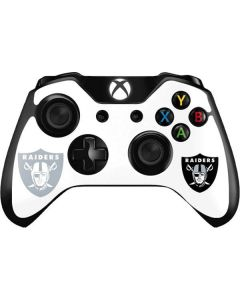 Las Vegas Raiders Double Vision Xbox One Controller Skin