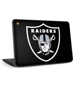 Las Vegas Raiders Large Logo HP Chromebook Skin