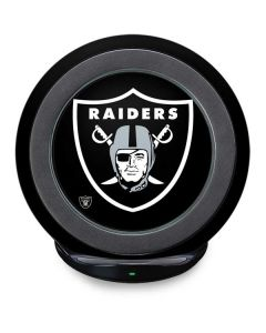 Las Vegas Raiders Large Logo Fast Charge Wireless Charging Stand Skin