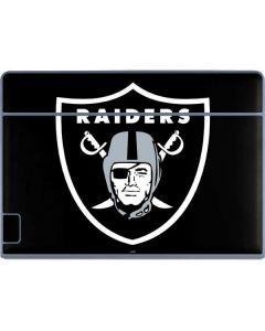 Las Vegas Raiders Large Logo Galaxy Book Keyboard Folio 12in Skin