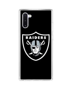 Oakland Raiders Large Logo Galaxy Note 10 Clear Case