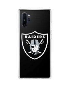 Oakland Raiders Large Logo Galaxy Note 10 Plus Clear Case