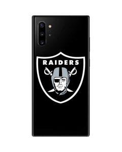 Las Vegas Raiders Large Logo Galaxy Note 10 Plus Skin