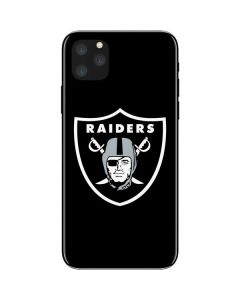 Oakland Raiders Large Logo iPhone 11 Pro Max Skin