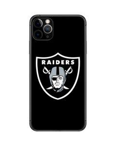 Las Vegas Raiders Large Logo iPhone 11 Pro Max Skin