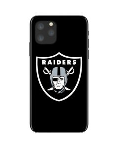 Oakland Raiders Large Logo iPhone 11 Pro Skin
