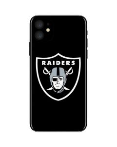 Las Vegas Raiders Large Logo iPhone 11 Skin