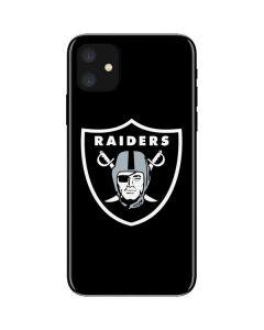 Oakland Raiders Large Logo iPhone 11 Skin