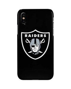 Las Vegas Raiders Large Logo iPhone XS Max Lite Case