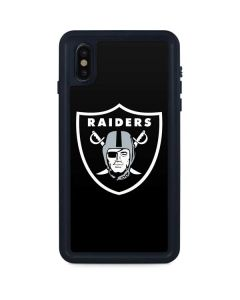 Las Vegas Raiders Large Logo iPhone XS Max Waterproof Case