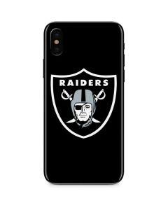 Las Vegas Raiders Large Logo iPhone XS Skin